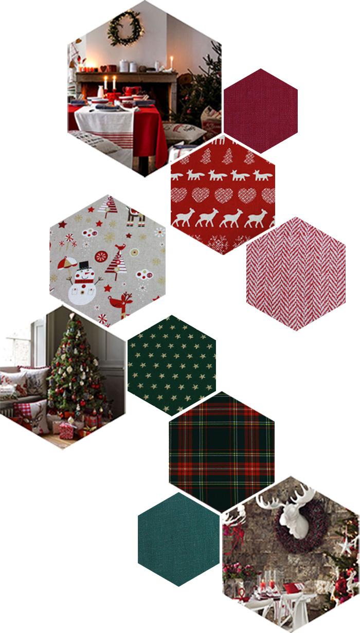 couleurs d'antan vert et rouge noël Si les fêtes ont, depuis longtemps, étaient prises d'assaut par les tendances annuelles, certaines restent intemporelles. Parmi elles, le Noël traditionnel, là où le sapin se pare de rouge et de vert, de sucres d'orge, de matières naturelles, de décorations en bois, du tintement des grelots. Ces Noëls familiaux autour d'une belle table recouverte d'une nappe en lin épais agrémentée de bougies et de l'argenterie de famille. Par la fenêtre, décorée d'un village en feutrine blanche, la neige tombe.