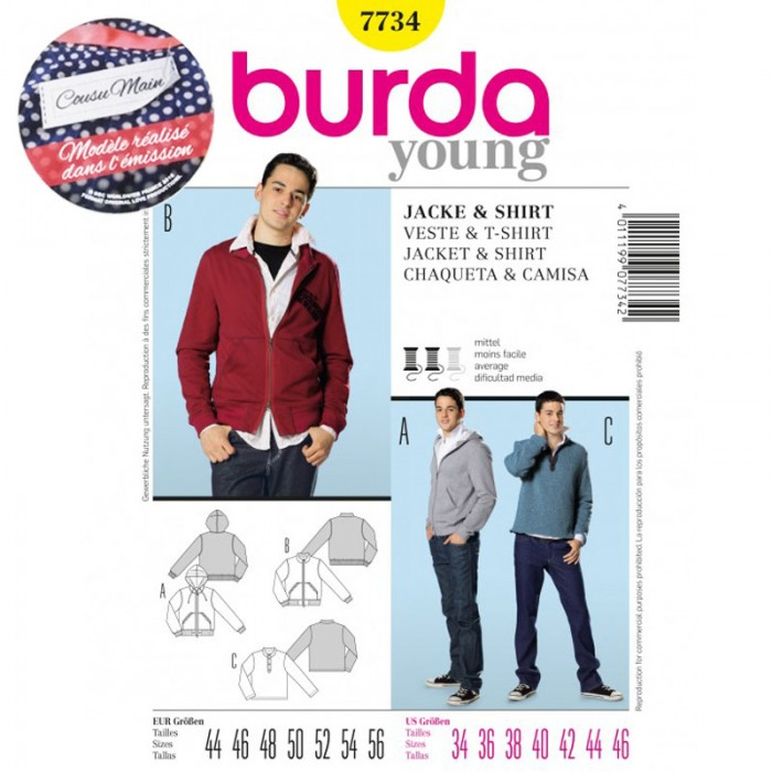 burda veste émission 3