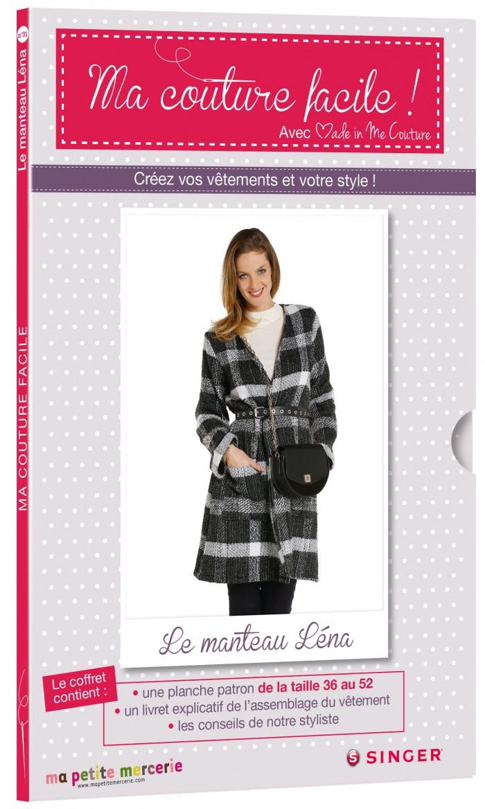 d53c120f8 Créez votre manteau Léna avec la sélection de tissus Ma petite ...