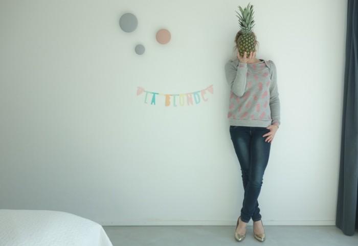 sweat ananas isa