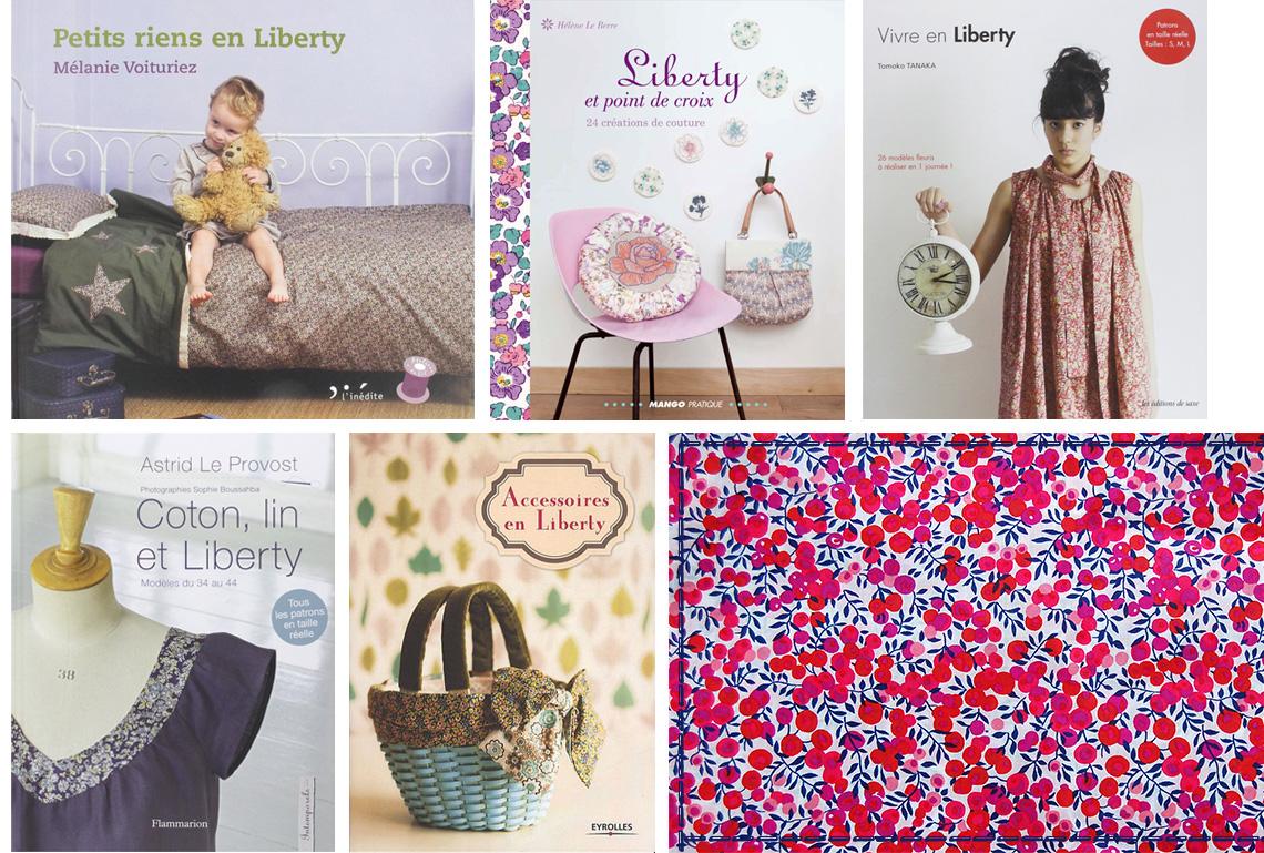 livres couture imprimé fleuri