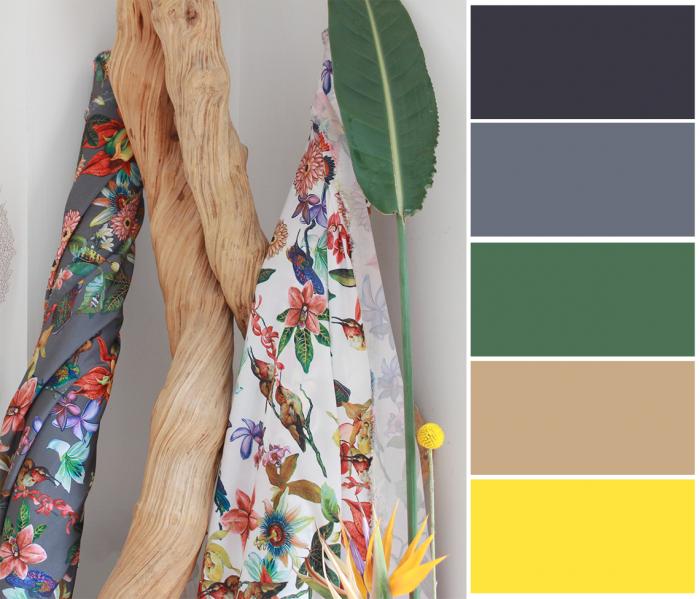 tropic pantone associer couleurs