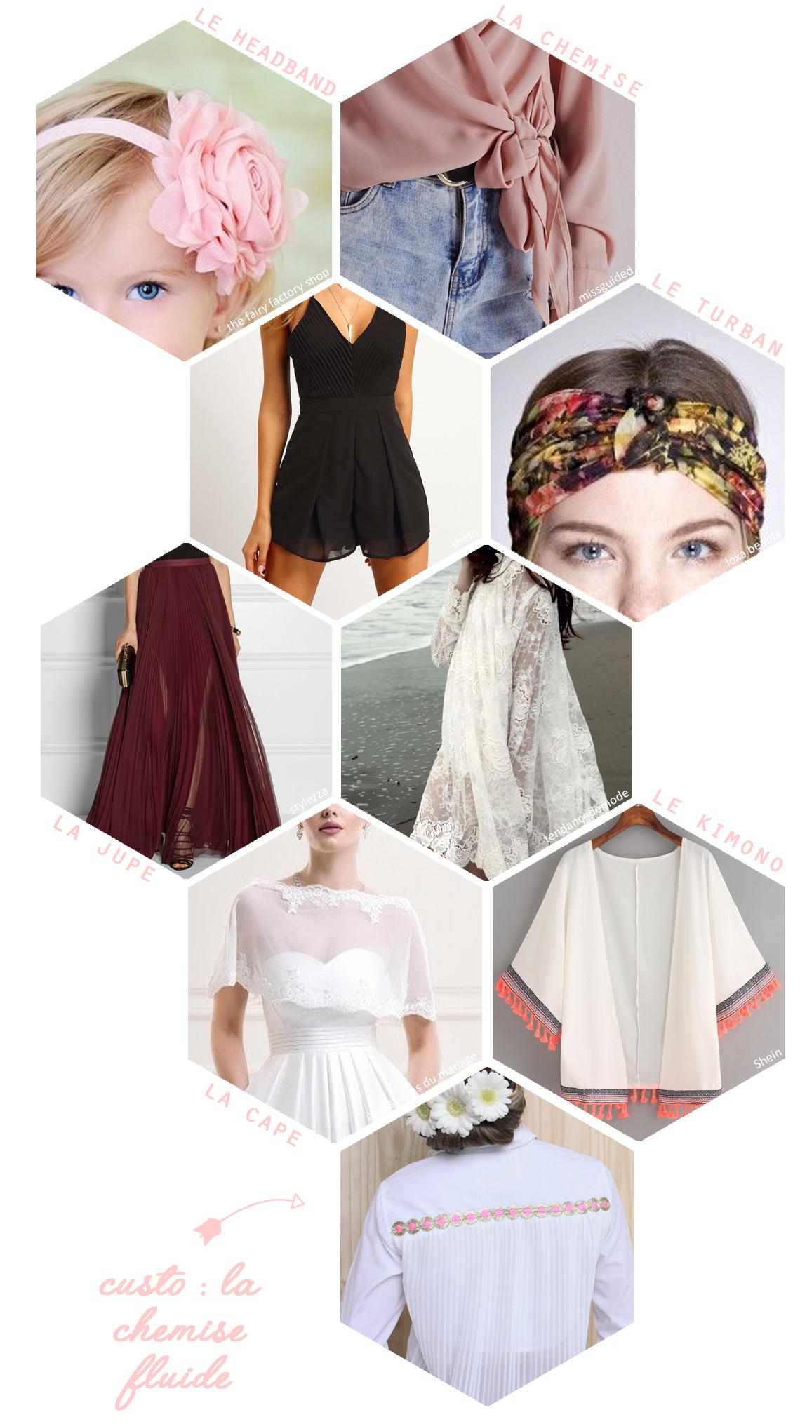 mousseline mode et tendances
