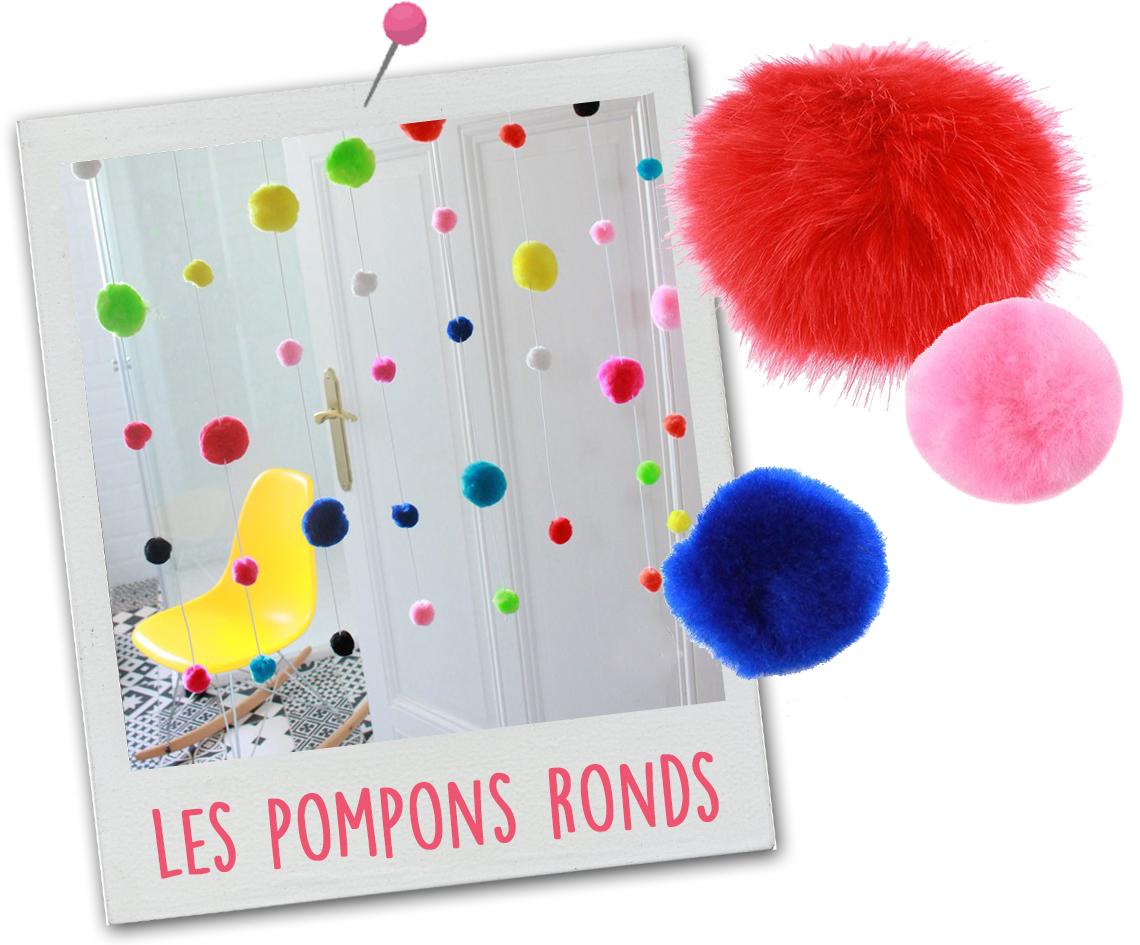 pompons ronds