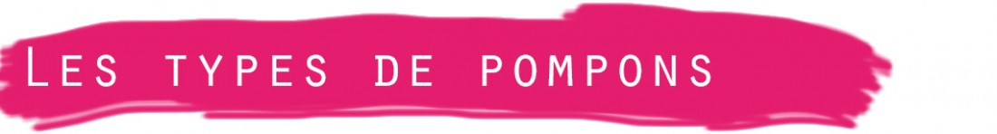 titre types pompons