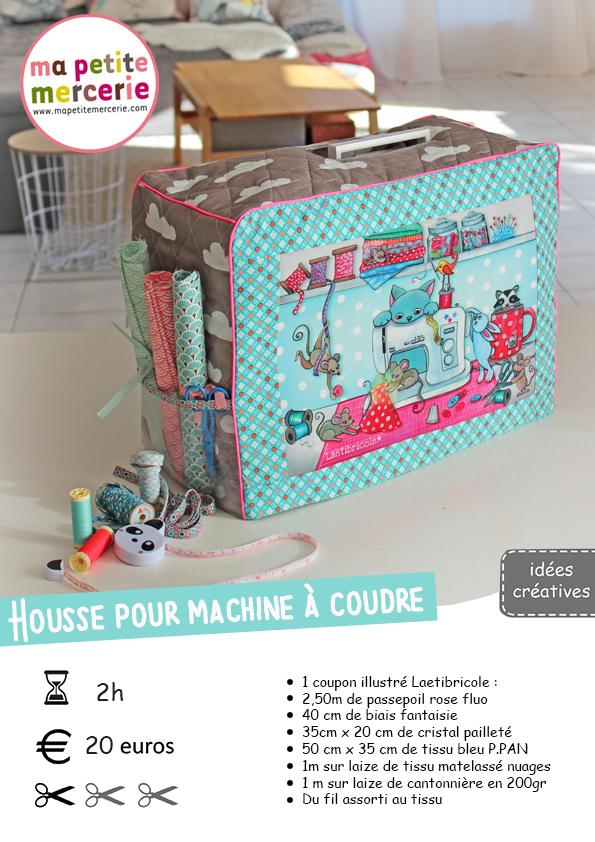 DIY   réaliser une housse pour machine à coudre - Ma petite Mercerie ... e81c8ed9b5f