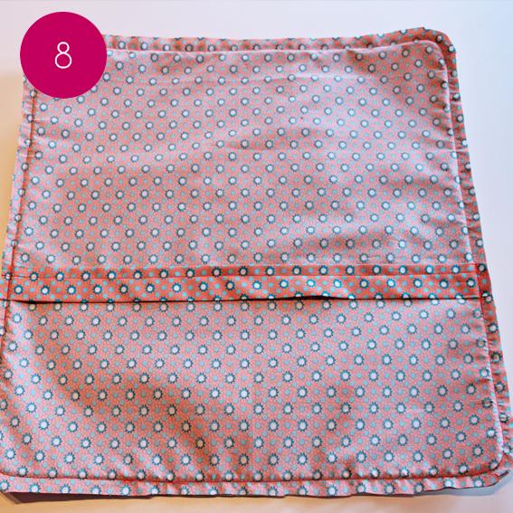 DIY : Réalisez une jolie housse de coussin déhoussable   Ma petite