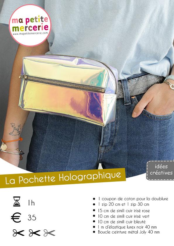 Tuto pochette holographique