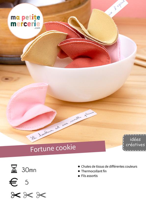 Coudre vos fortune cookies en 2 étapes seulement !