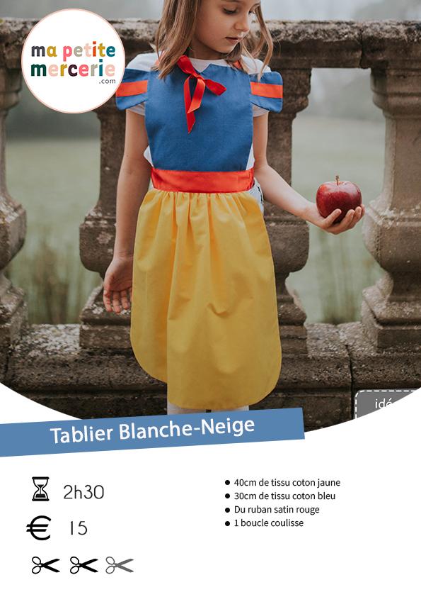 récapitulatif tablier Blanche-Neige
