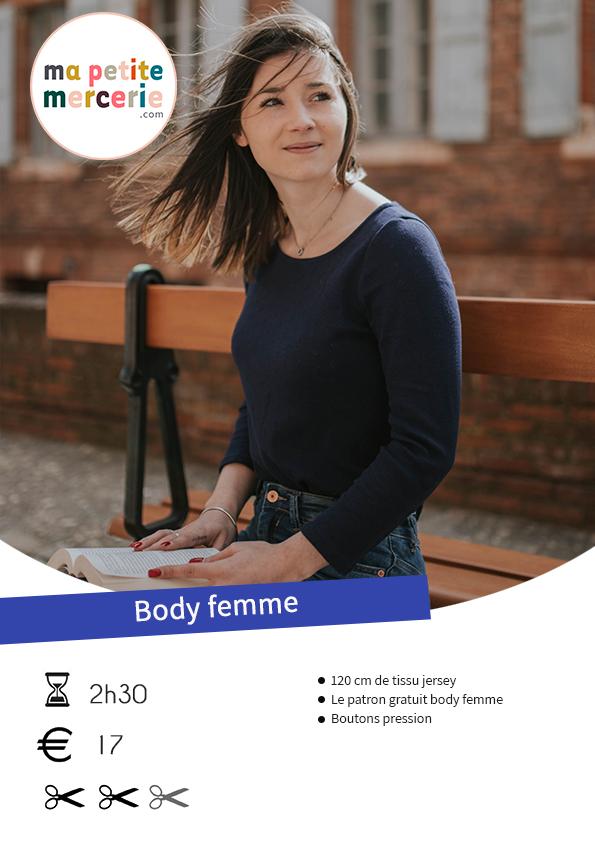 patron body femme