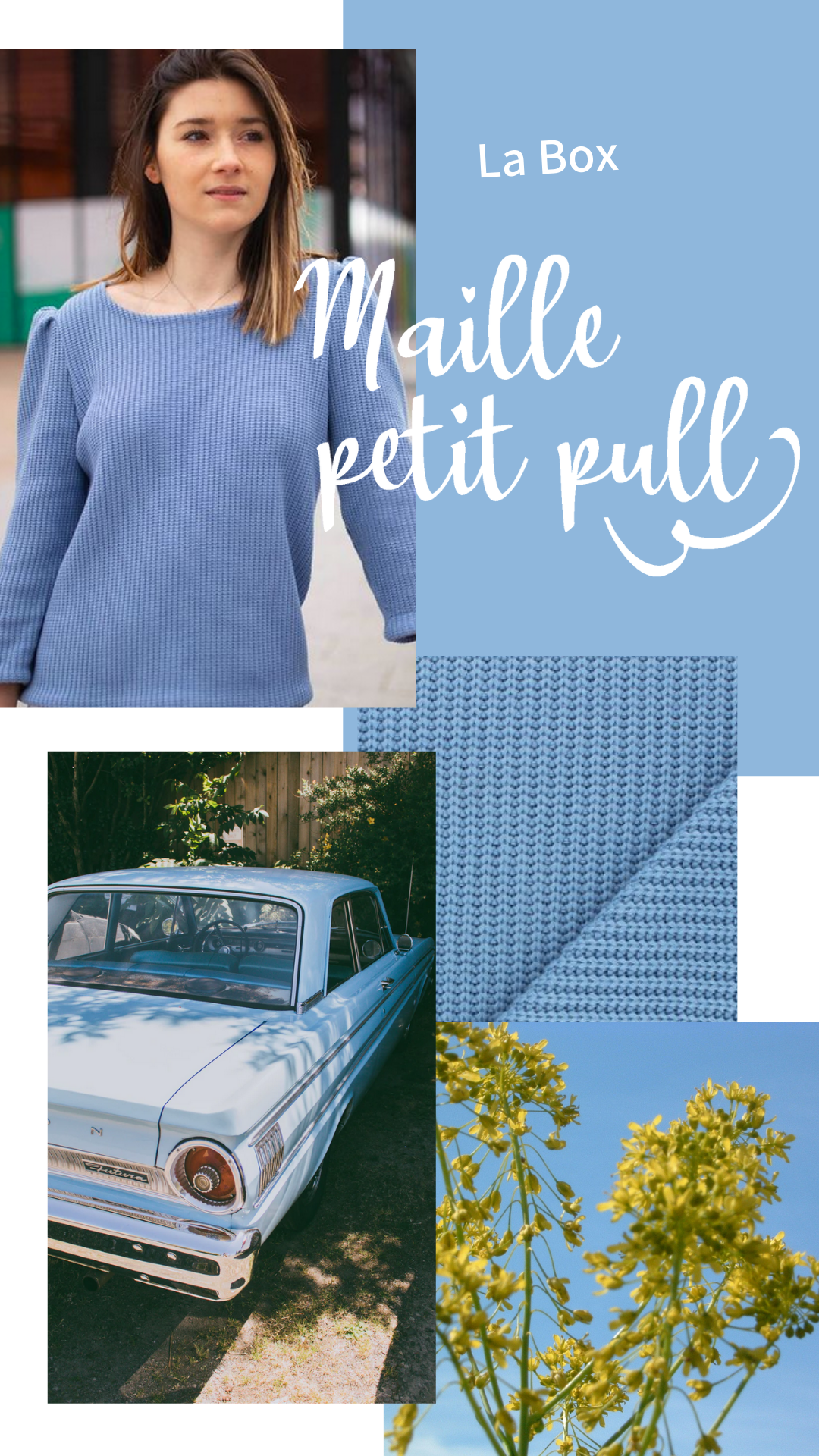 Inspiration Box Maille Petit Pull