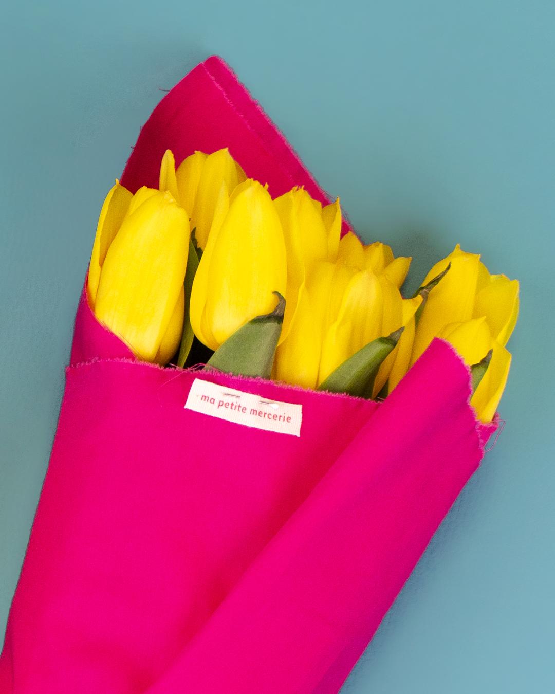 emballage bouquet fleur