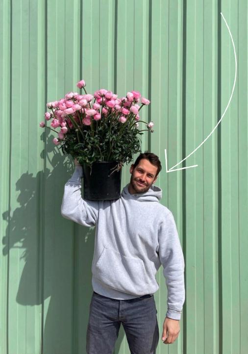 jacquemus projet les fleurs