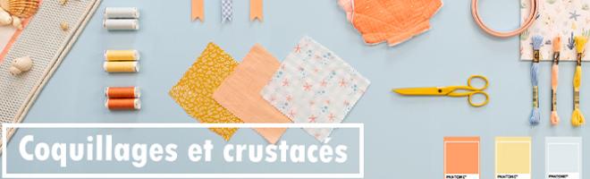 Bannière Blog Moodboard Coquillages et crustacés