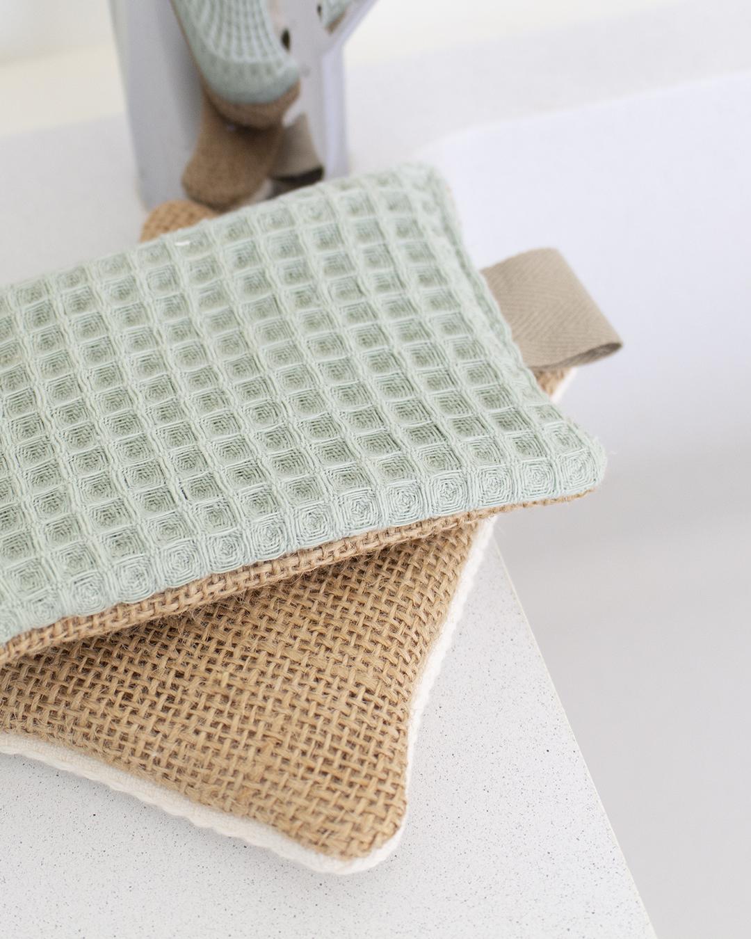 fabriquer éponge lavable