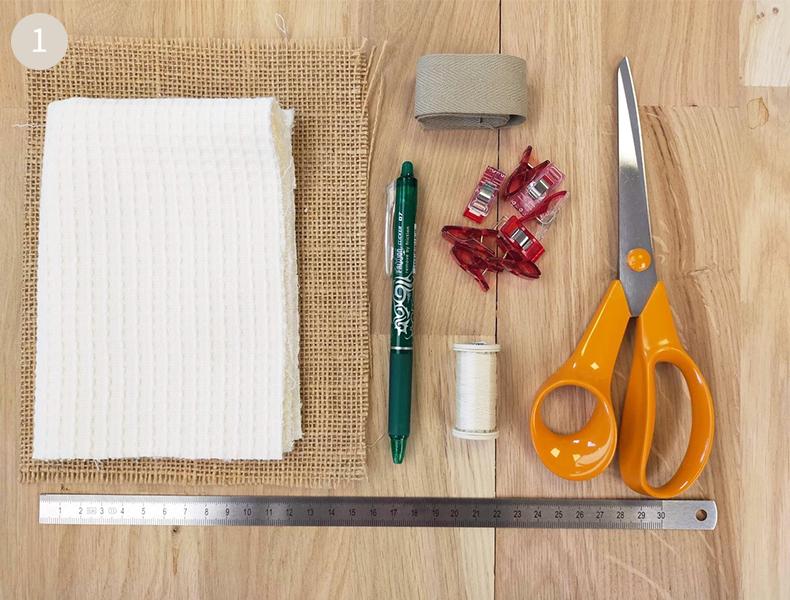 matériel fabriquer éponge lavable