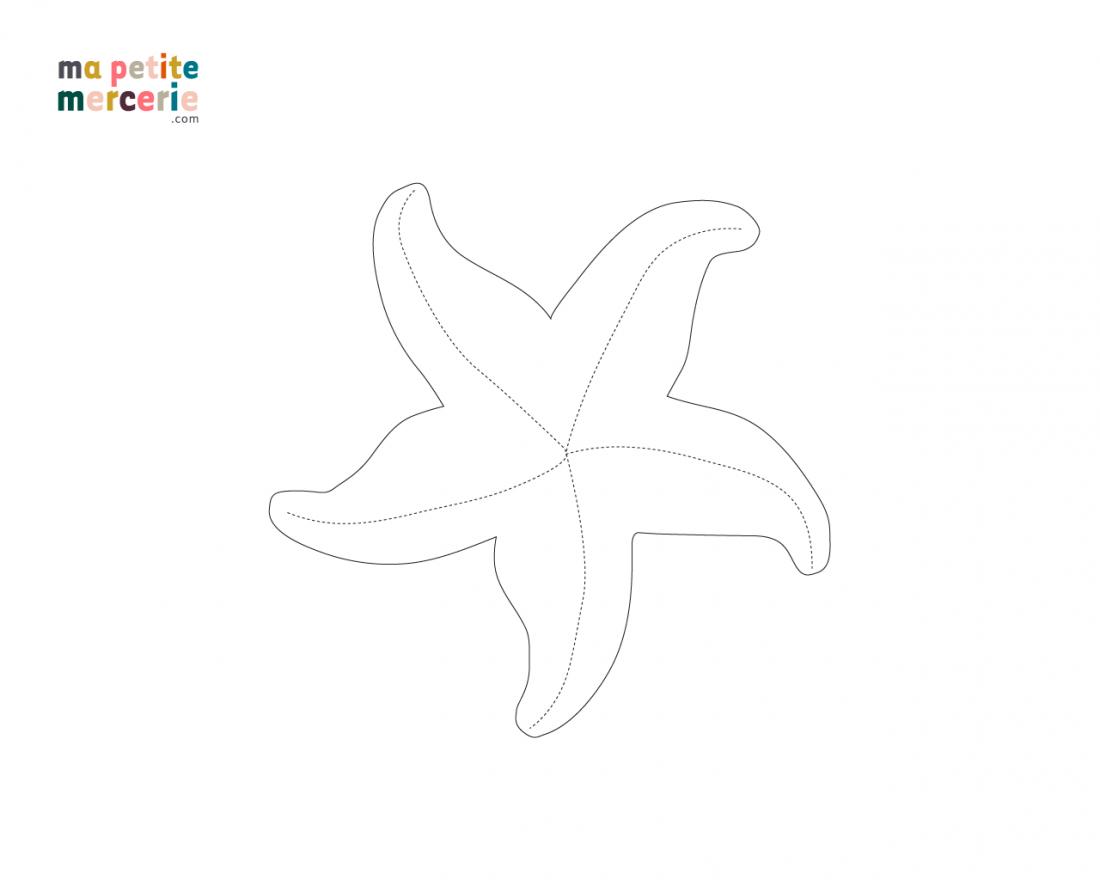 schema doudou étoile de mer