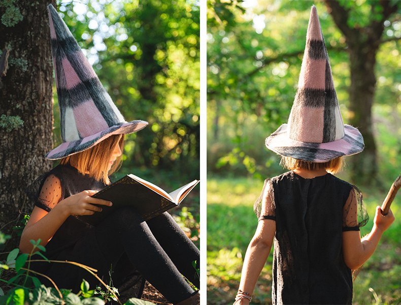 déguisement Halloween chapeau de sorcière